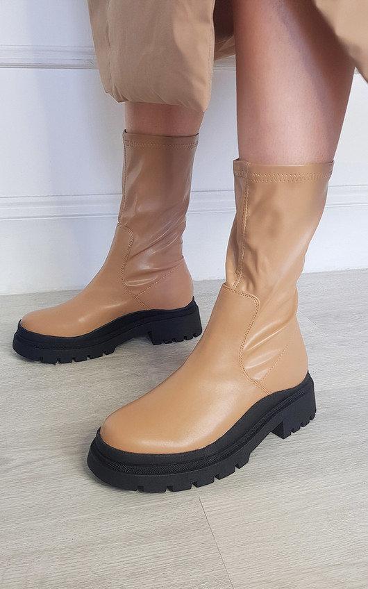 Reegan Chunky Mid Calf Boots