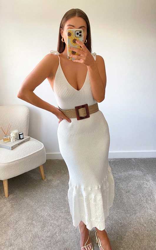Reese Knitted Bodycon Midi Dress
