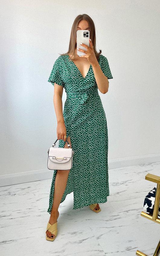 Regan Printed Maxi Dress