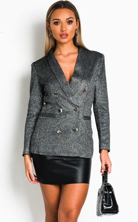 Remy Sparkly Blazer Jacket