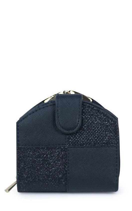Rielle Faux Leather Style Zip Purse