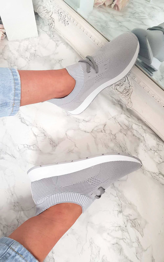Riley Lace Up Sock Trainer