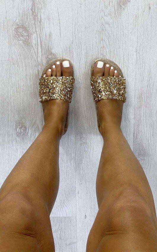 Rita Embellished Sliders