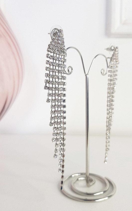 Rita Fringe Drop Earrings