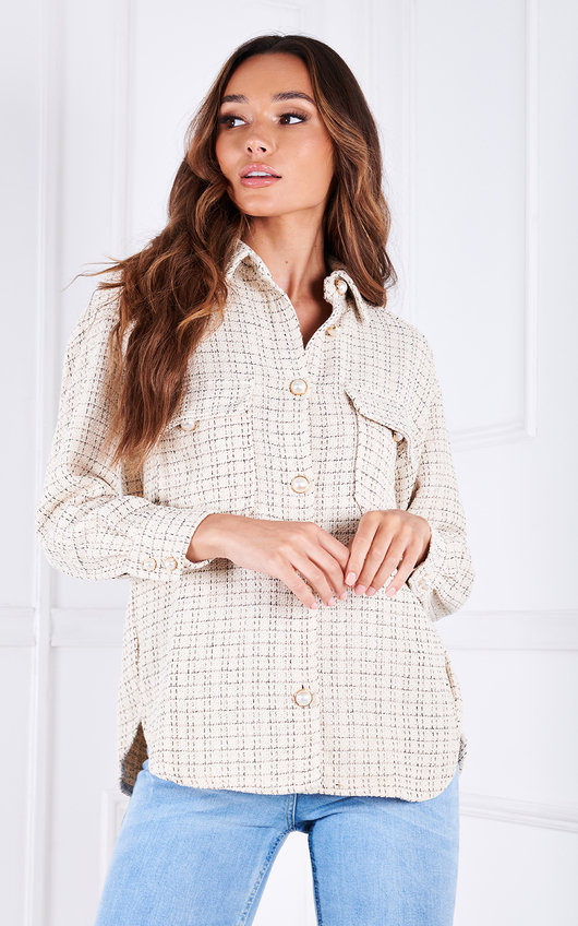 Rix Button Up Collared Shacket