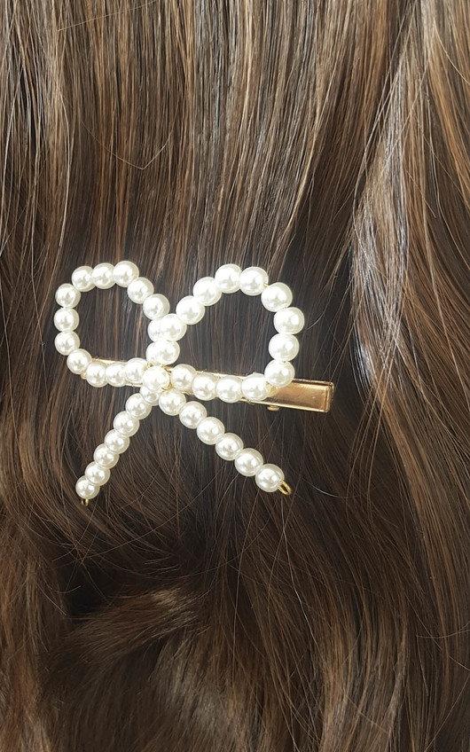 Robyn Bow Detail Hair Clip