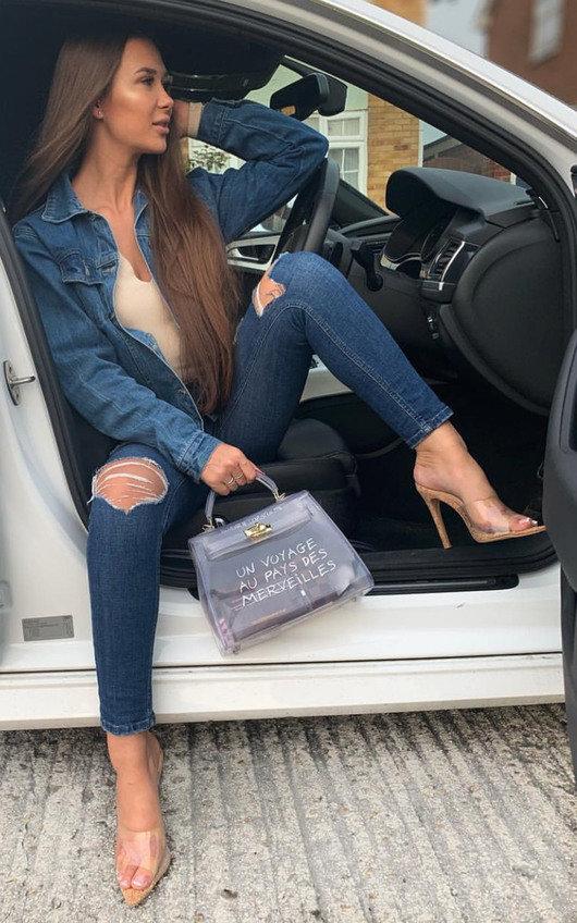 Robyn Cork Mule Heels