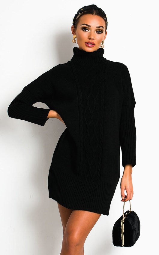 Robyn Knitted Jumper Dress