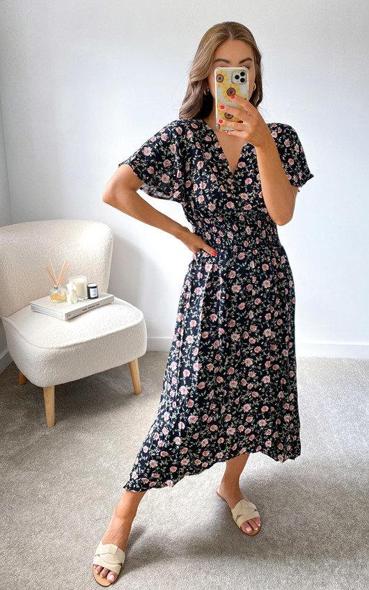 Robyn Printed Dress