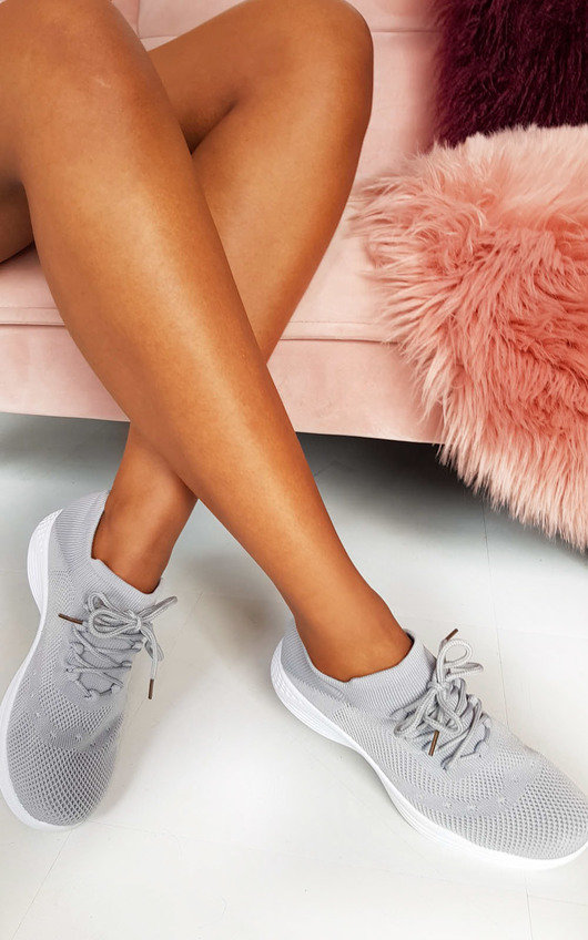 Roman Lace Up Sock Trainer