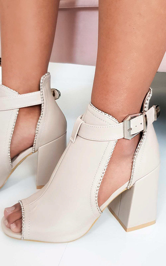 Ronnie Cut Out Block Heel Boots