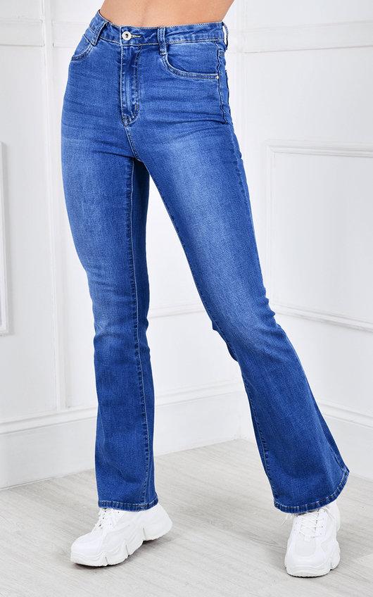 Rose Flared Denim Jeans
