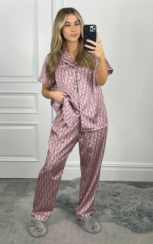 Rose Printed Pyjama Co-ord
