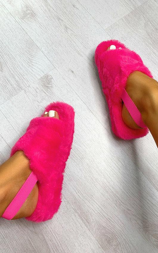 Rosi Faux Fur Slippers
