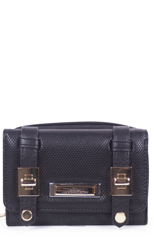 Rosie Faux Leather Style Zip Purse