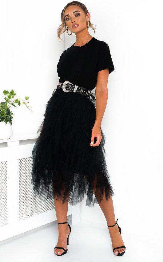 Roxi Tulle Midi Dress