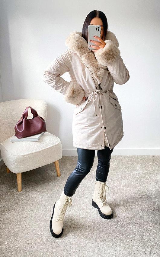 Ruby Faux Fur Padded Jacket
