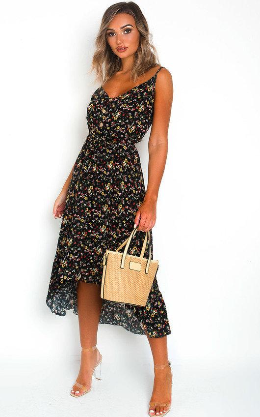 Saara Ditsy Print Maxi Dress