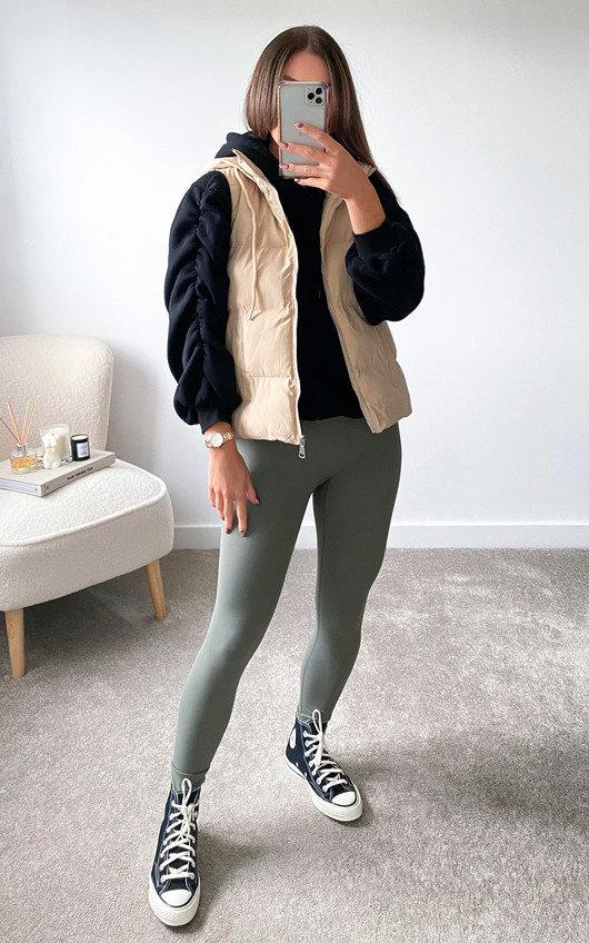 Sabrina Short Style Padded Gilet