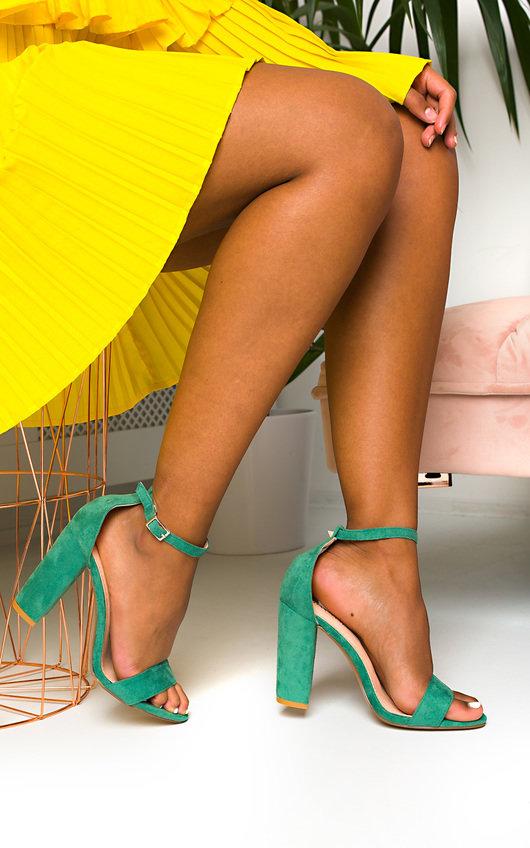 Sadie Barely There Block Heels