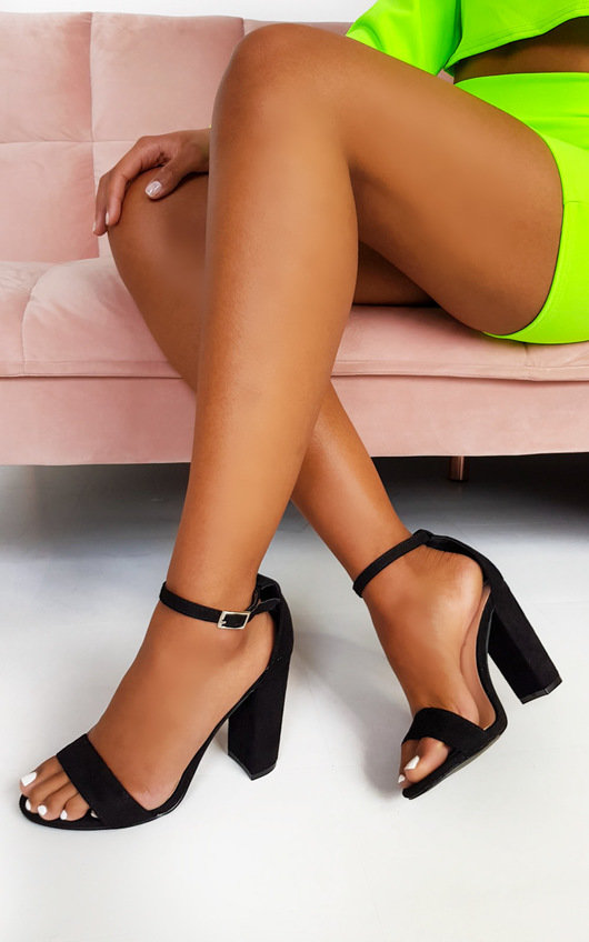 Sadie Barely There Block Heels