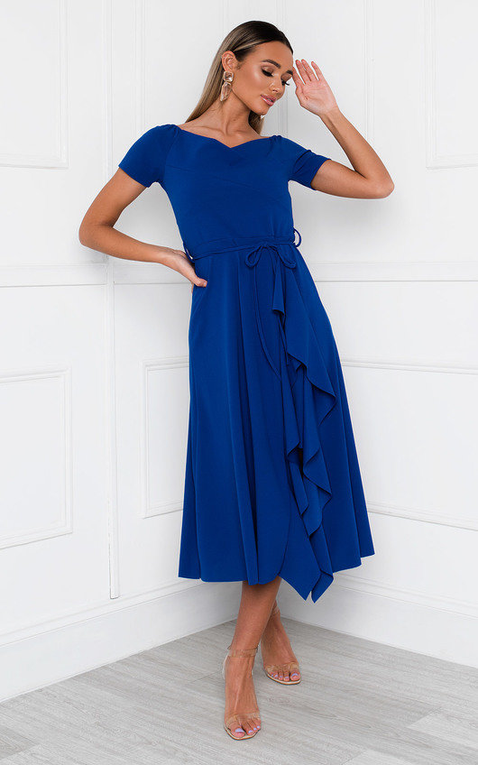 Safia Frill Wrap Dress