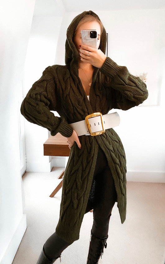 Safia Longline Knitted Cardigan