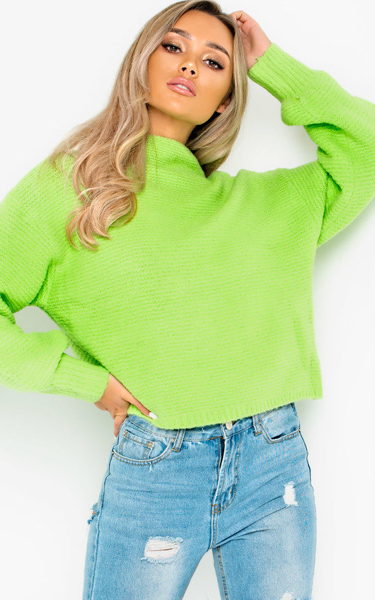Sage Chunky Knitted Jumper