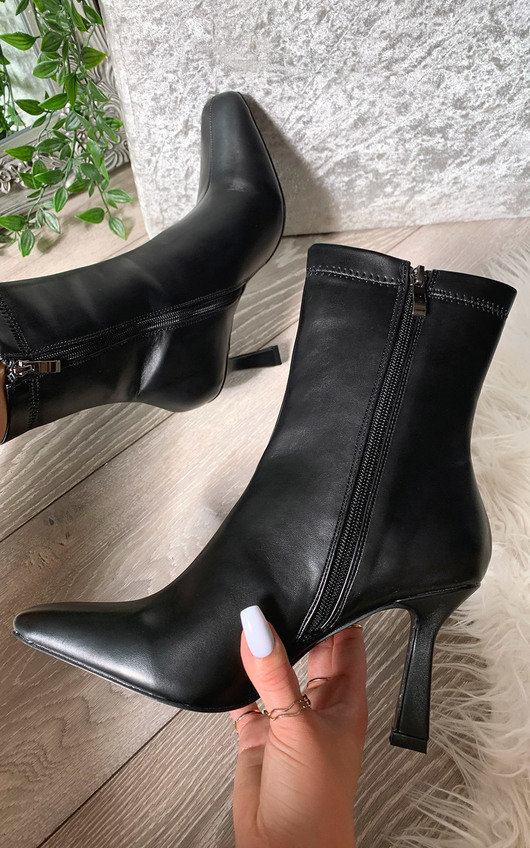 Sally Heeled Ankle Boots