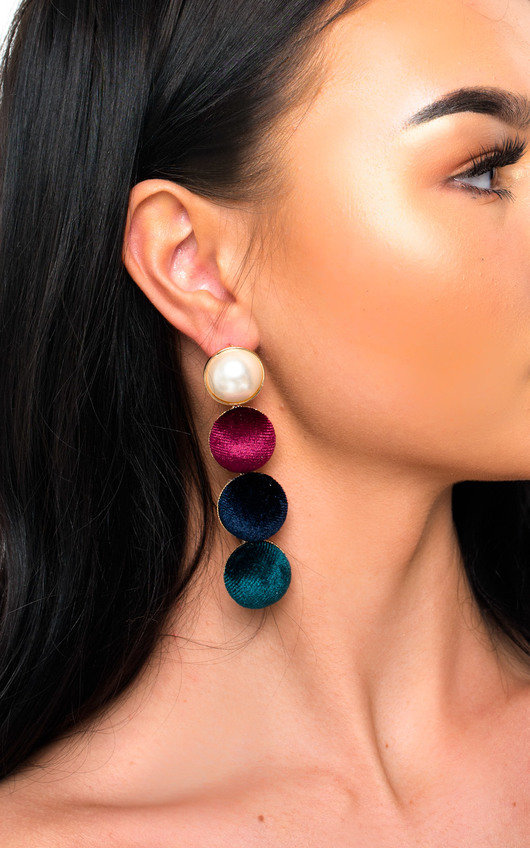 Sam Statement Drop Earrings