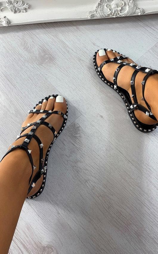 Sammy Strappy Studded Sandals