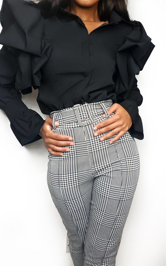Sanah Paperbag Tailored Trousers