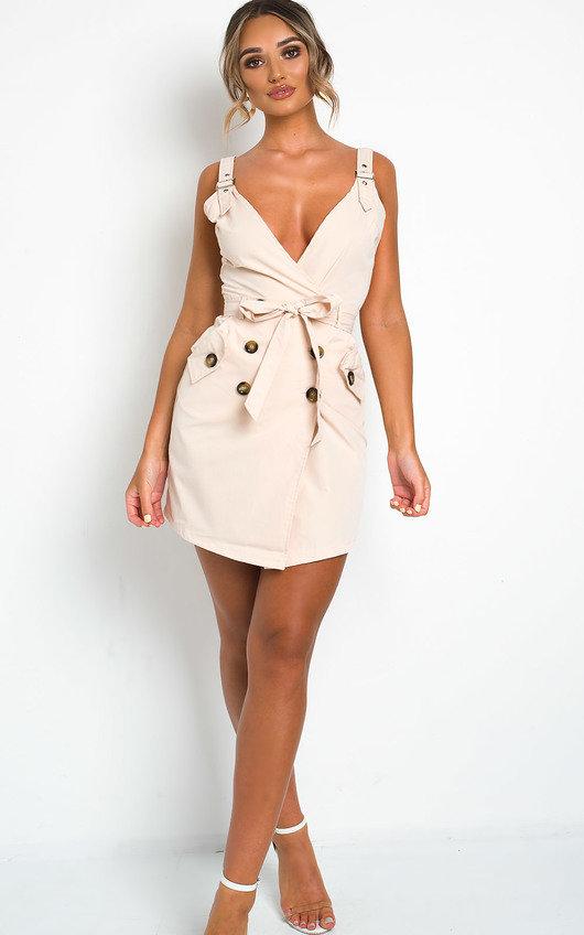 Sandi Button Up Dress