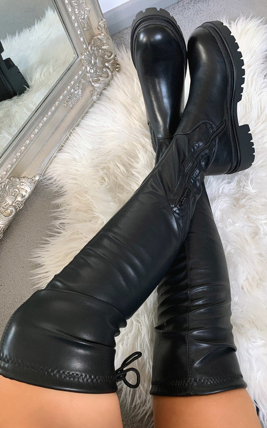 Sandie Knee High Boots