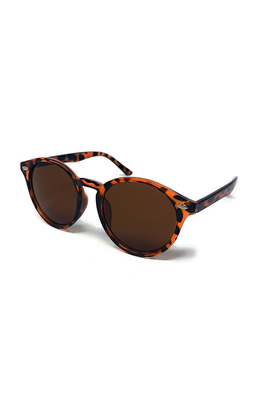 Sapphire Leopard Print Sunglasses