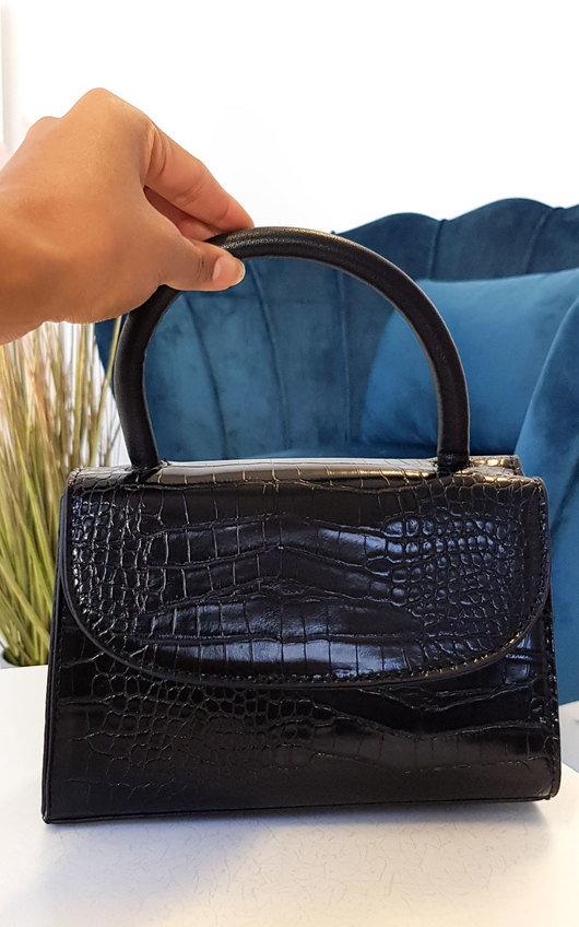 Sara Faux Leather Handbag