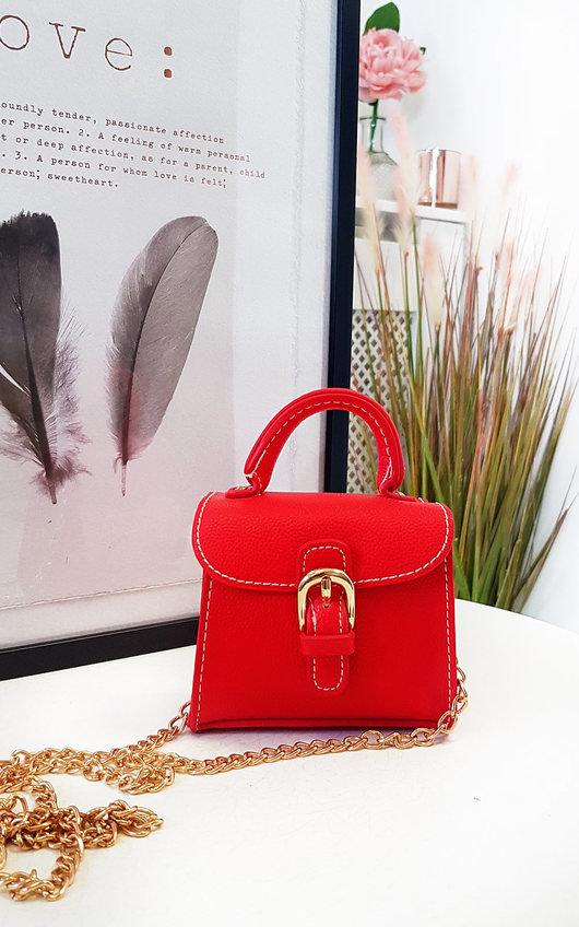 Sara Micro Mini Buckle Bag