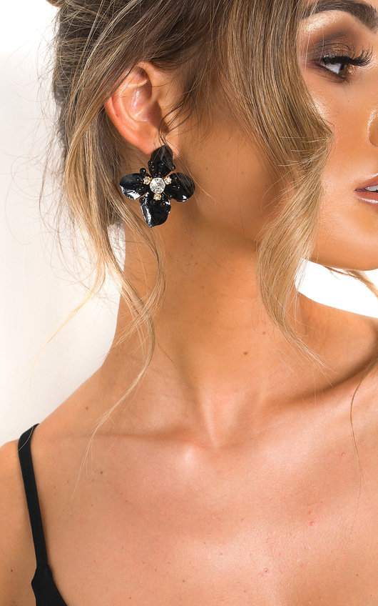 Sarah Floral Drop Earrings