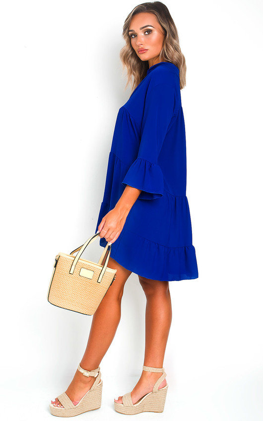 Sarah Frill Shift Dress