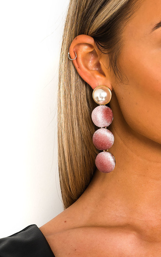 Sarah Pearl Drop Earrings