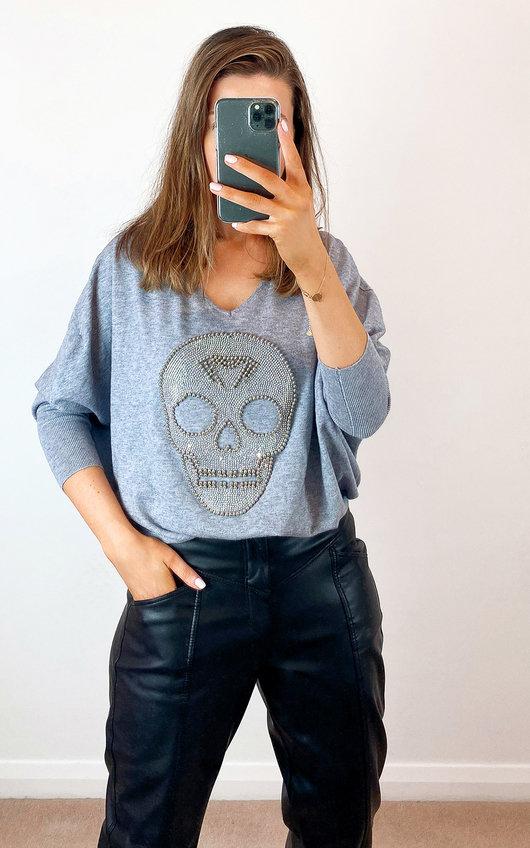 Sarah Skull Jumper