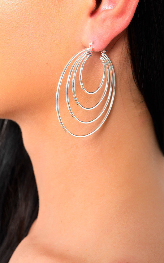 Sasha Multi Hoop Earrings