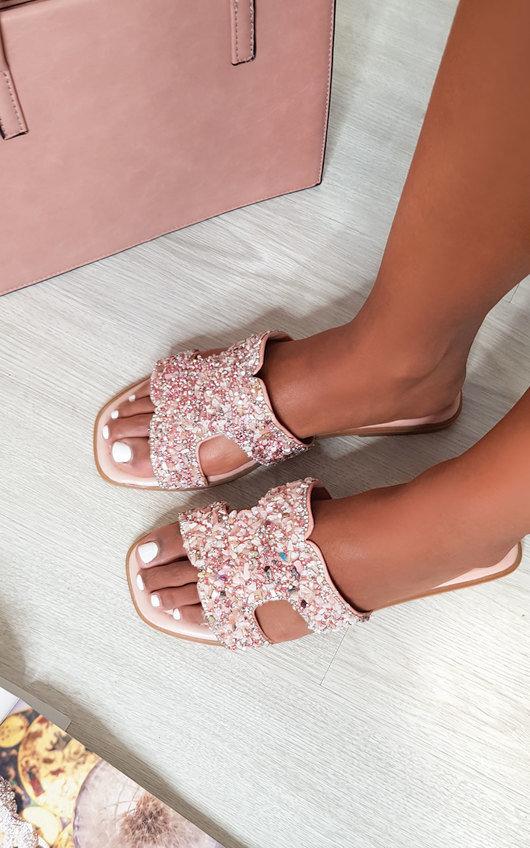 Sasha Open Toe Embellished Sandals