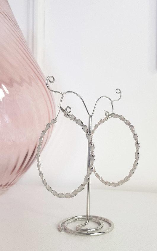 Saskia Hoop Earrings