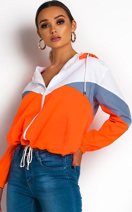Sav Neon Sports Shell Bomber Jacket