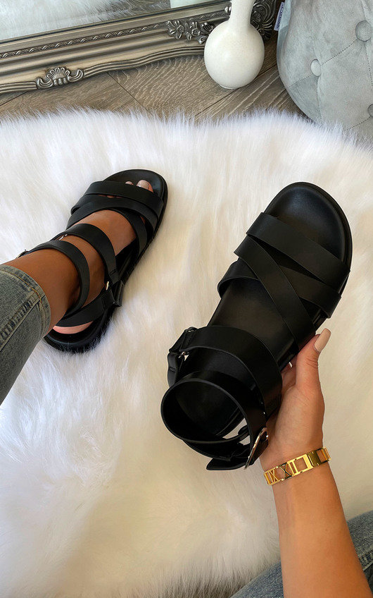 Scarlett Strappy Ankle Buckle Sandal