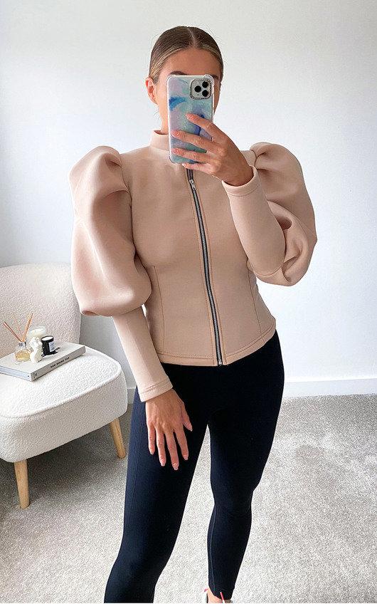 Scarlette Puff Sleeve Jacket