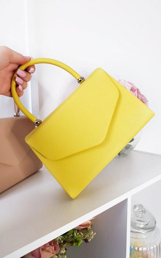 Selena Faux Leather Handbag