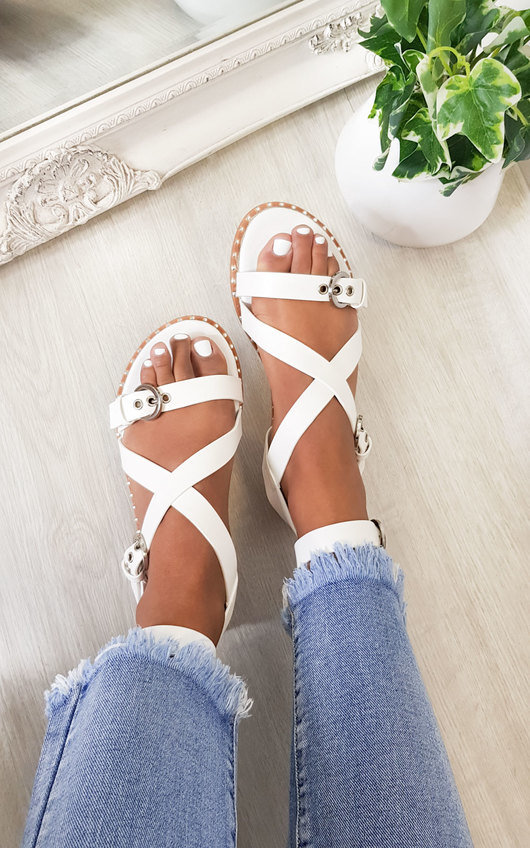 Selina Strappy Buckle Sandals