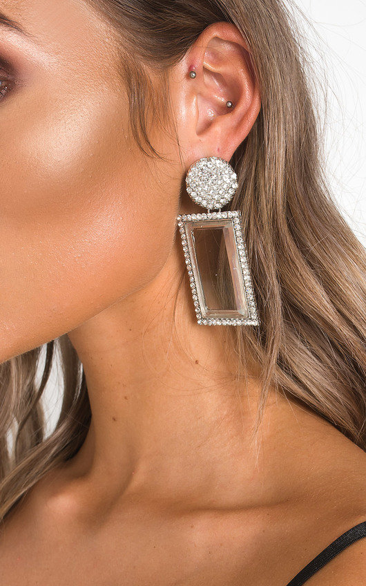 Serena Diamante Drop Earrings